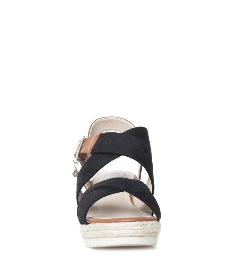 Xti-Sandalo-Elvia-argento-Altezza-cuneo-7-5-cm-Donna-Rosa-Bronzo-Oro miniatura 18