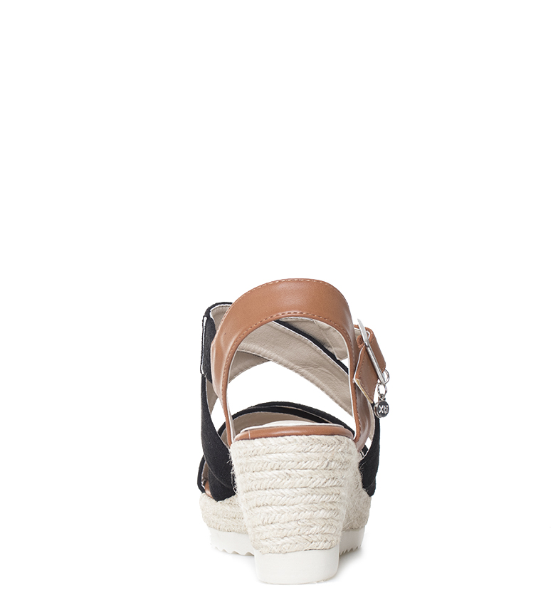 Xti-Sandalo-Elvia-argento-Altezza-cuneo-7-5-cm-Donna-Rosa-Bronzo-Oro miniatura 19