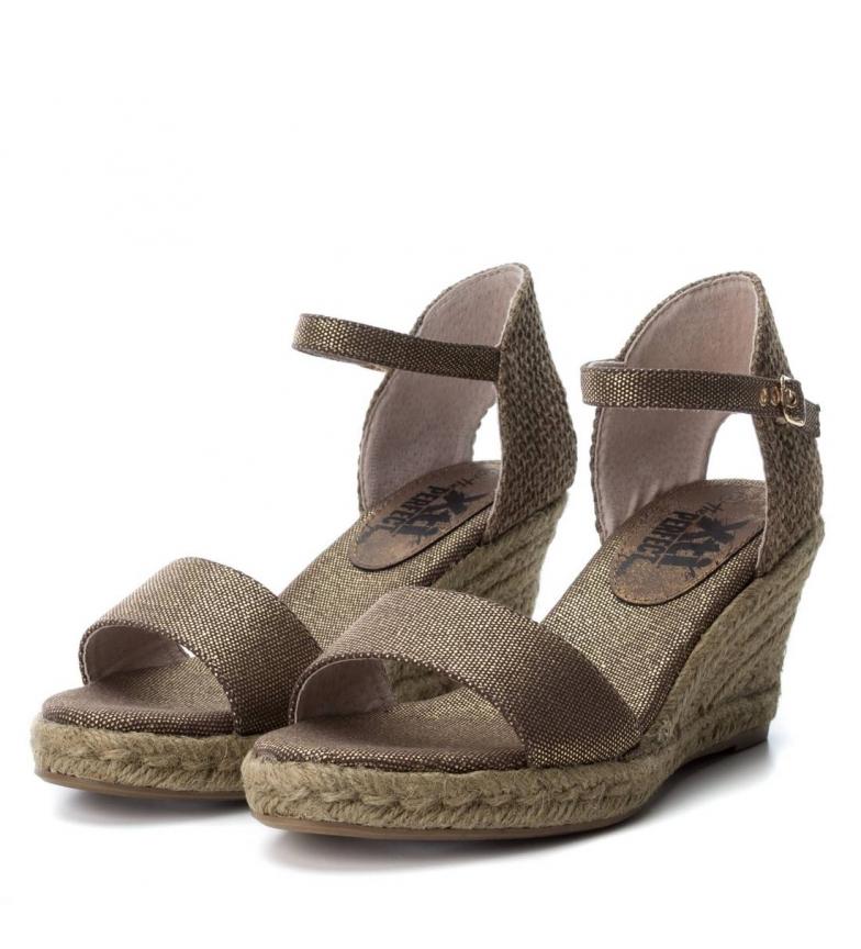 rabatt footlocker målgang Xti Kile Sandal Gråbrun Høyde: 8cm beste pris salg utmerket salg besøk nytt kjøpe billig fabrikkutsalg 6OeOFoVnw