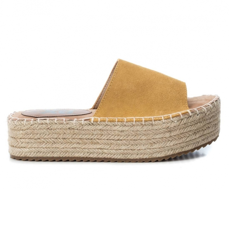 Comprar Xti Sandalo in pelle 049133 Panama - Altezza plateau: 4cm-