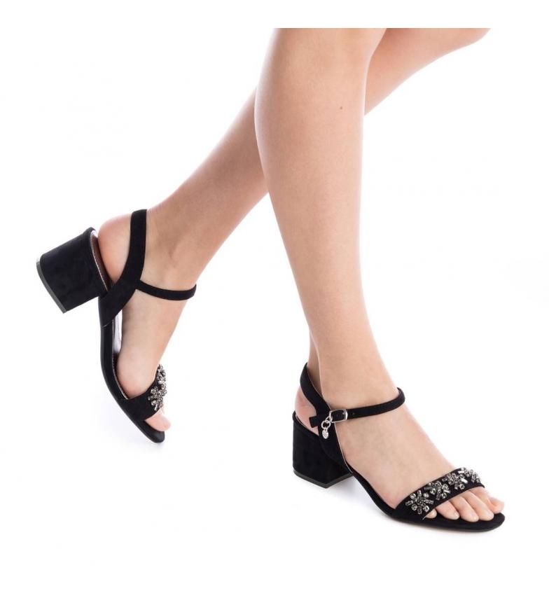 Prisene for salg rabatt amazon Xti Svart Hæl Sandal 030699neg salg gratis frakt 2014 billige online billig kjøp l1VQZids