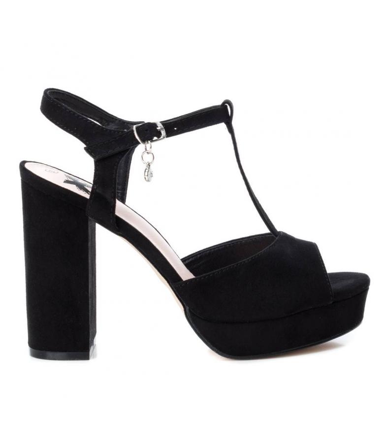 Comprar Xti Sandale à talon large 034074 noir -Hauteur du talon : 11cm