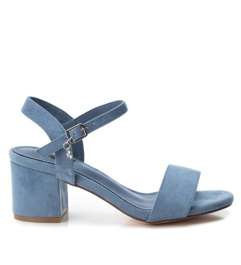 Comprar Sandalia Ancho Jeans Altura Tacón7cm Xti Tacón 034134 eW9EH2DIY