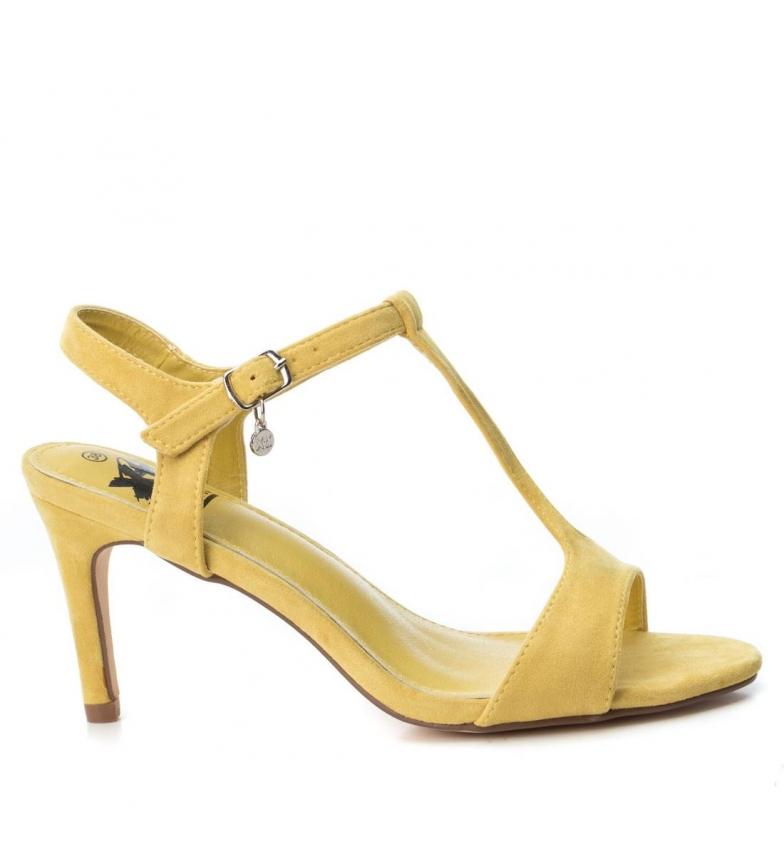 e818103b Comprar Xti Sandalia tacón fino 034072 amarillo -Altura tacón: 8cm ...