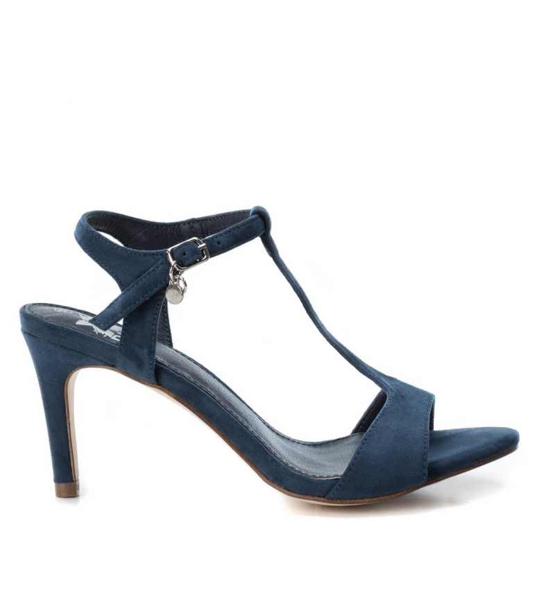 Comprar Xti Sandal fine heel 034072 navy -Heel height: 8cm