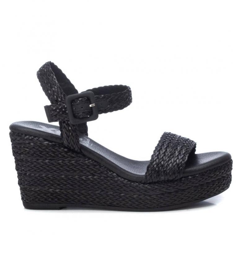 Comprar Xti Sandales 042268 noir - Hauteur de la cale : 9cm