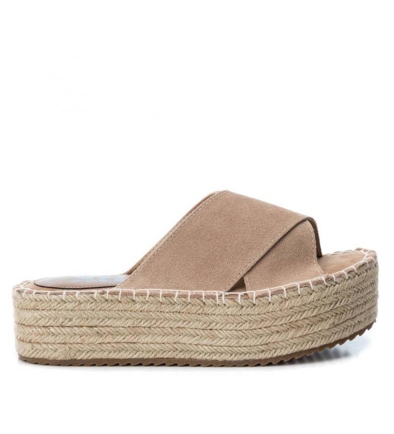 Comprar Xti Sandals 049134 beige - platform height 4cm