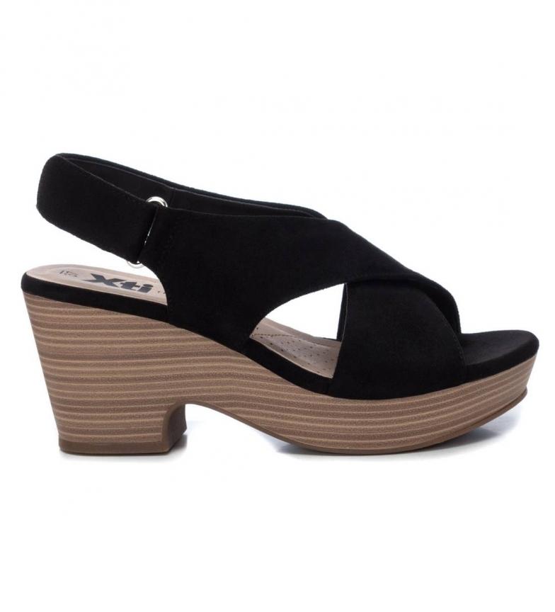 Comprar Xti Sandales 049997 noires - hauteur du talon : 7cm