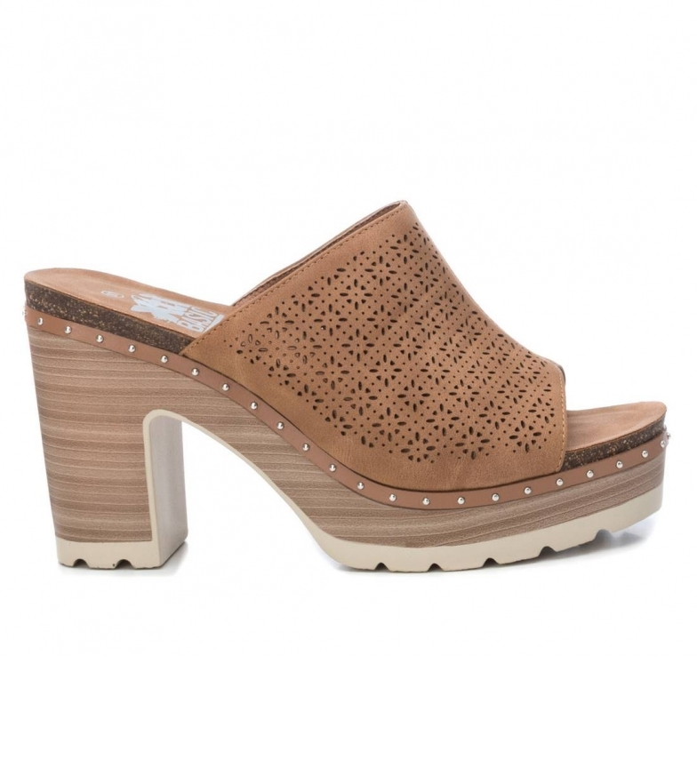 Comprar Xti Sandals 034241 camel -Heel height: 10cm