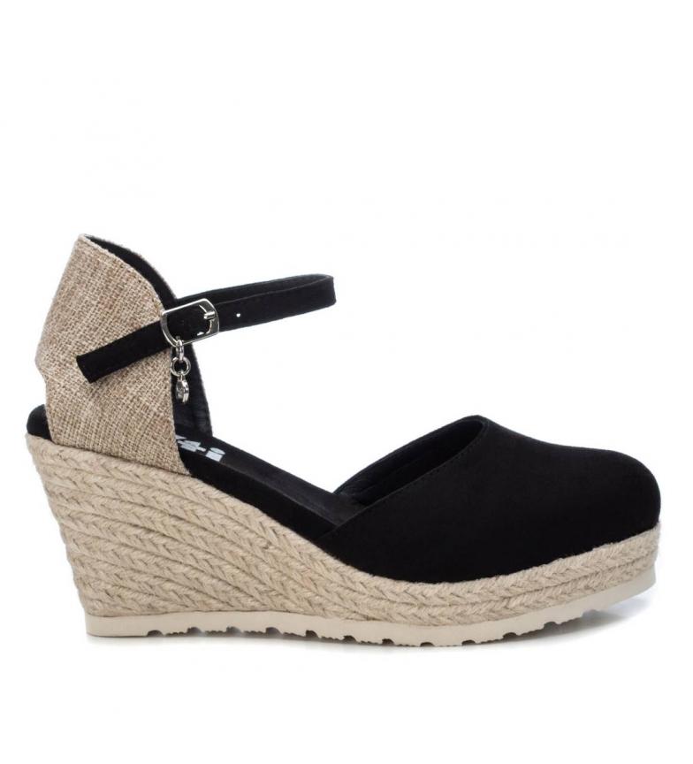 Comprar Xti Sandals 044025 black - Wedge height: 8cm