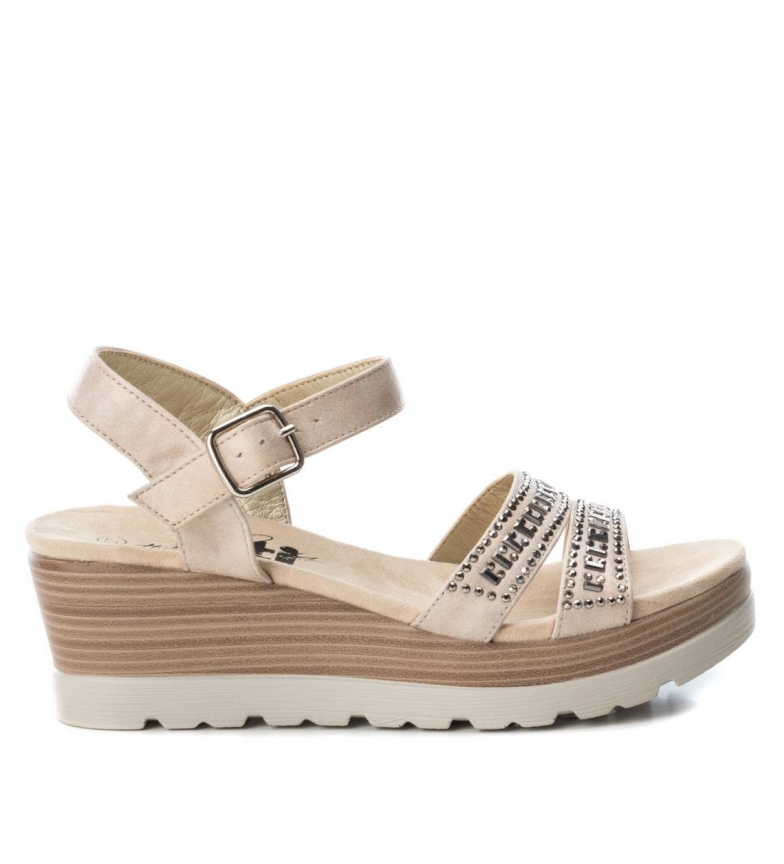 Comprar Xti Talia sandals beige - Wedge height: 6cm