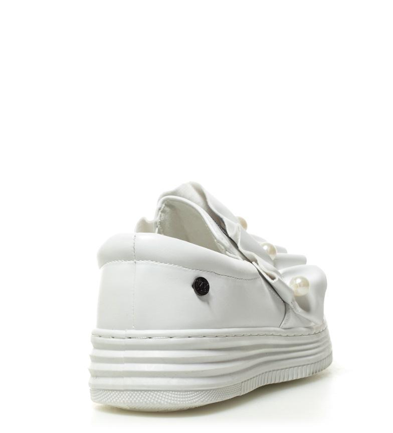 plataforma 3 5cm Slip blanco Xti On Sandra Altura xXCpq1Y
