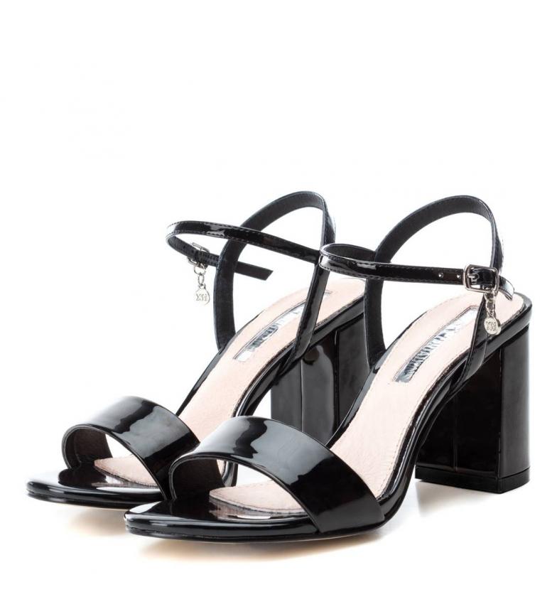 Xti-Sandali-con-tacco-032033-nero-Altezza-tacco-8cm-Donna-Beige-Rosa miniatura 6