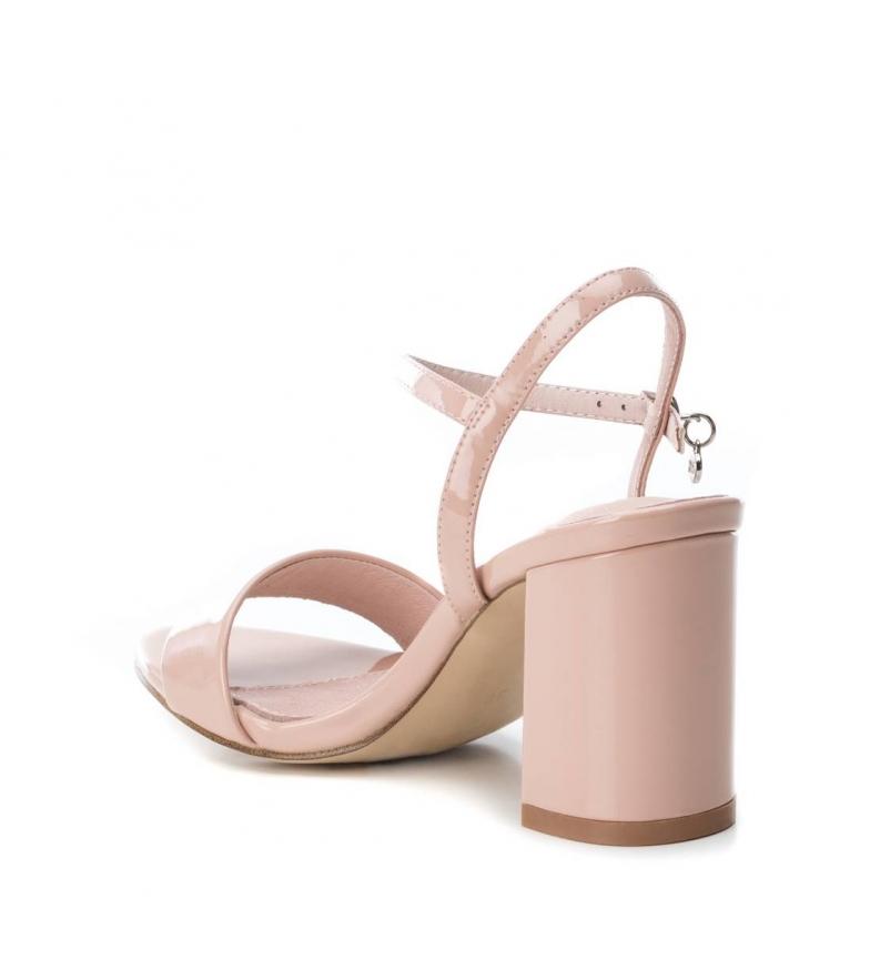 Xti-Sandali-con-tacco-032033-nero-Altezza-tacco-8cm-Donna-Beige-Rosa miniatura 10