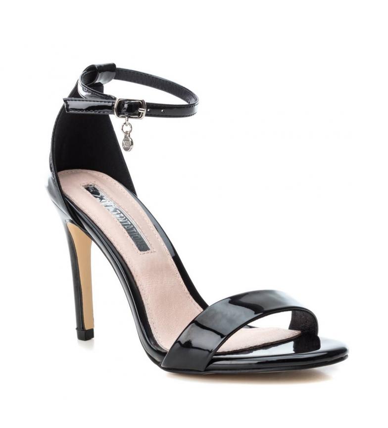 Xti-Sandali-032080-nero-altezza-tacco-10cm-Donna-Rosa-8-a-10cm-piu-di-10cm miniatura 4