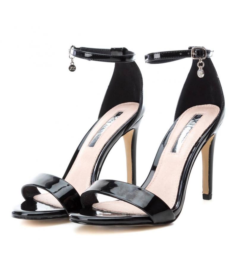 Xti-Sandali-032080-nero-altezza-tacco-10cm-Donna-Rosa-8-a-10cm-piu-di-10cm miniatura 6