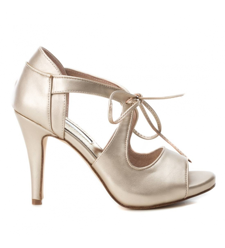 Comprar Xti Sandals 035026 gold -heel height: 10cm