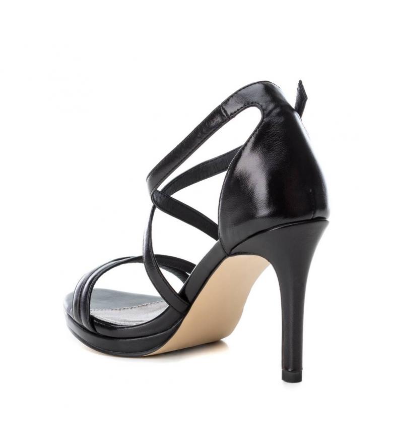 Xti-Sandali-035027-oro-Altezza-tacco-9cm-Donna-Nero-Beige-Rosa-8-a-10cm miniatura 5