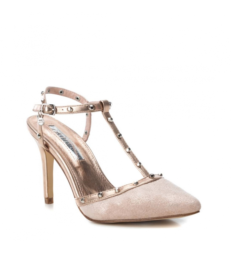 Xti-Sandali-035030-nudo-Altezza-tacco-9cm-Donna-8-a-10cm-Fibbia-Casual-Da miniatura 4