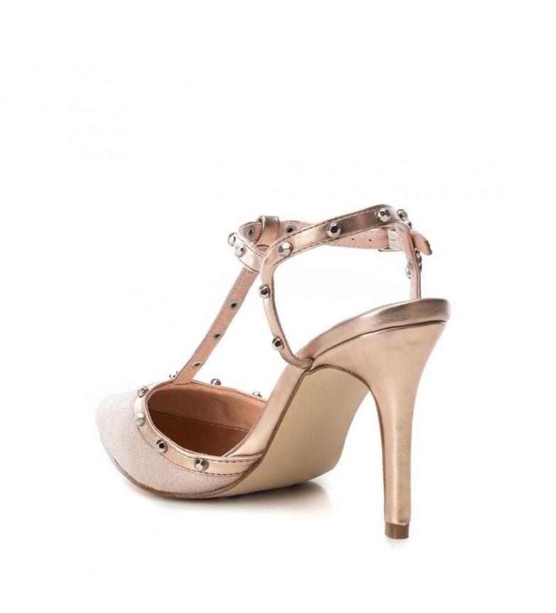 Xti-Sandali-035030-nudo-Altezza-tacco-9cm-Donna-8-a-10cm-Fibbia-Casual-Da miniatura 5