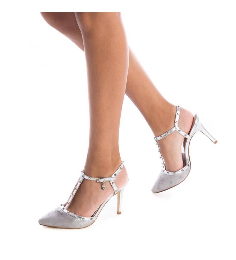 Xti-Sandali-035030-nudo-Altezza-tacco-9cm-Donna-8-a-10cm-Fibbia-Casual-Da miniatura 8