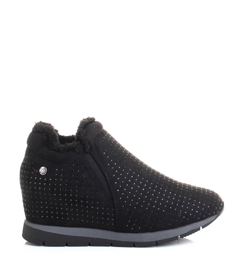 Comprar Xti Pantofole 48631 nero-altezza zeppa + suola: 6 cm-