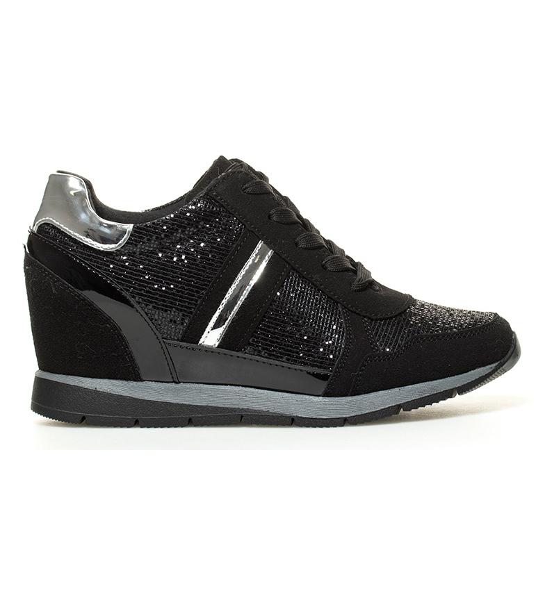 Comprar Xti Zapatillas Aida negro -Altura cuña: 7 cm-
