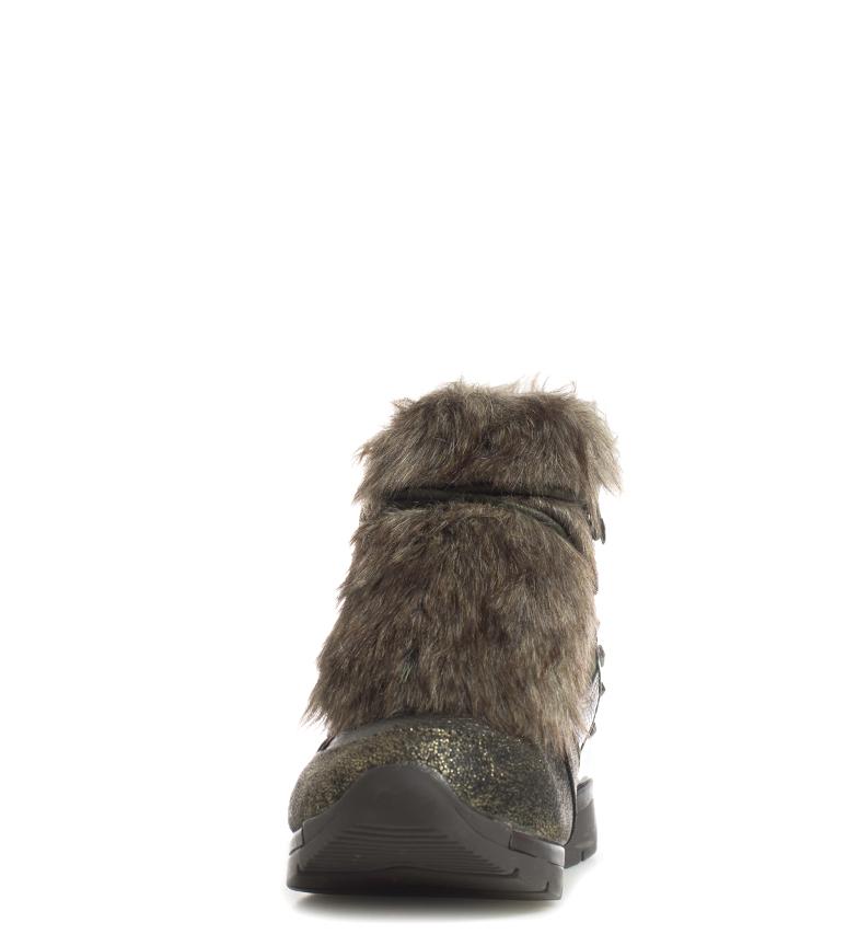 Suedi Tissu Chocolat Xti Chaussures Hauteur Du Femme 7cm Coin C5P61w