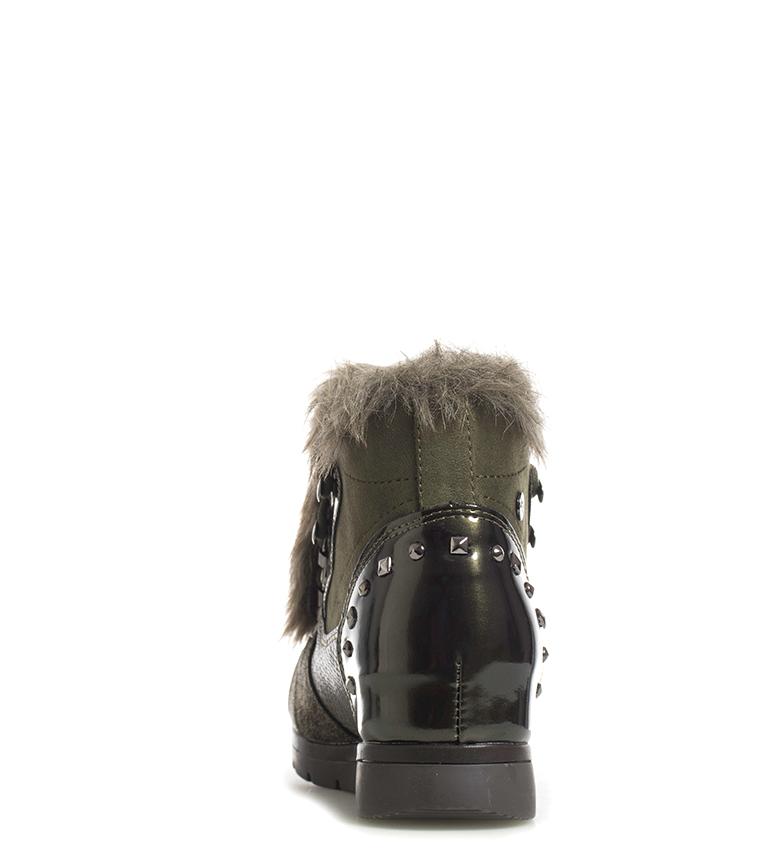 Du Coin Suedi Chaussures 7cm Chocolat Femme Xti Tissu Hauteur 1RFTqwU