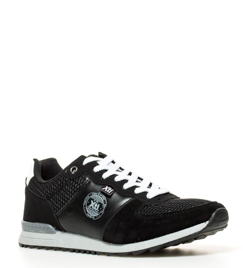 Lacets Tissu Homme Noires Xti Chaussures Plat Anton Synthétique Bleu Rouge qvnwC6RS