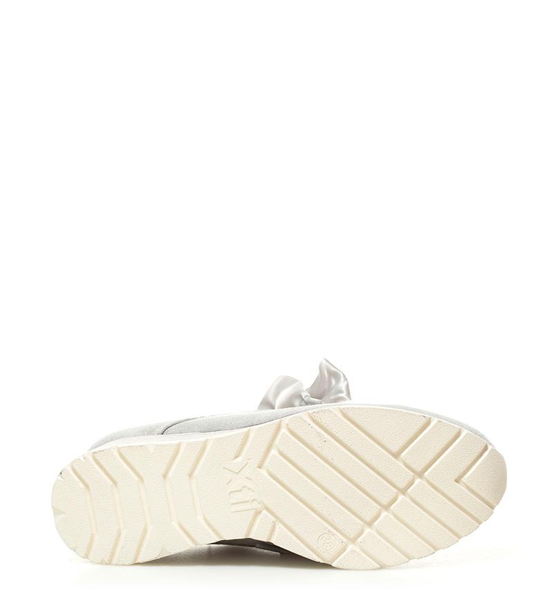 Xti Zapatillas Bethia hielo Altura cuña: 6cm