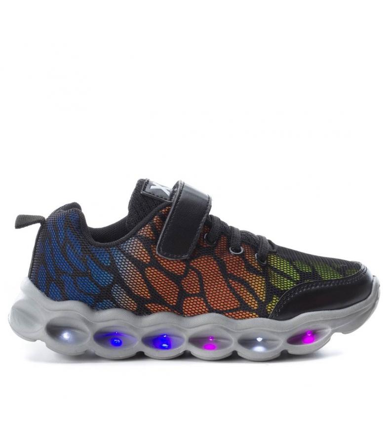 Xti - Zapatillas con luces negro 6Qz39l0Kb