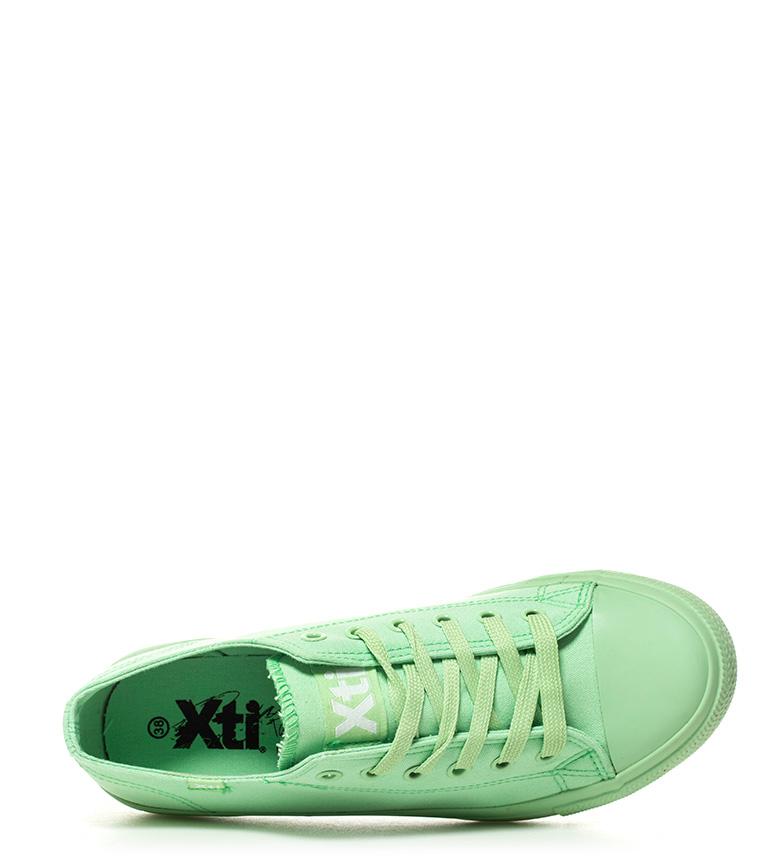 Xti Xti Zapatillas Zapatillas verde Eunice ZrZqwPY