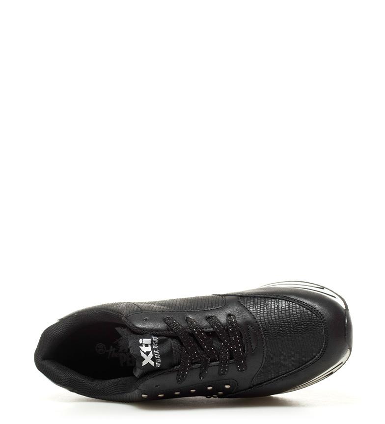 negro Xti Zapatillas Altura Xti Zapatillas plataforma 4cm Gunna PI5TTq