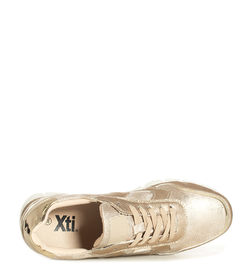 18c1c987 Comprar Xti Zapatillas Maira dorado - your online Trekking store