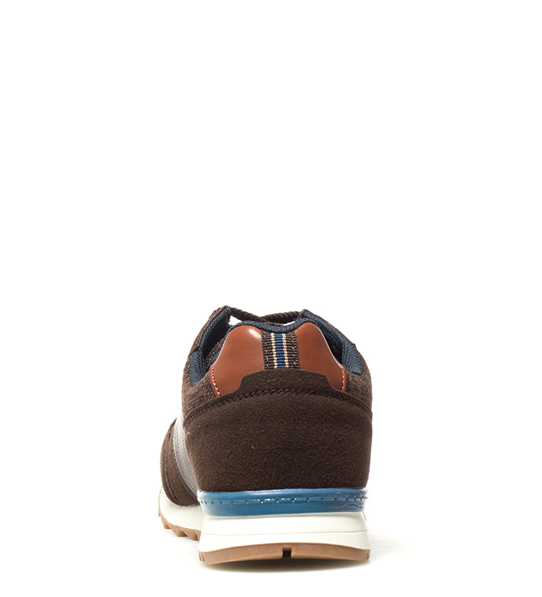 Lacets Noir Chaussures Marron Matias Casuel Synthétique Bleu Tissu Homme Xti fwHPqH