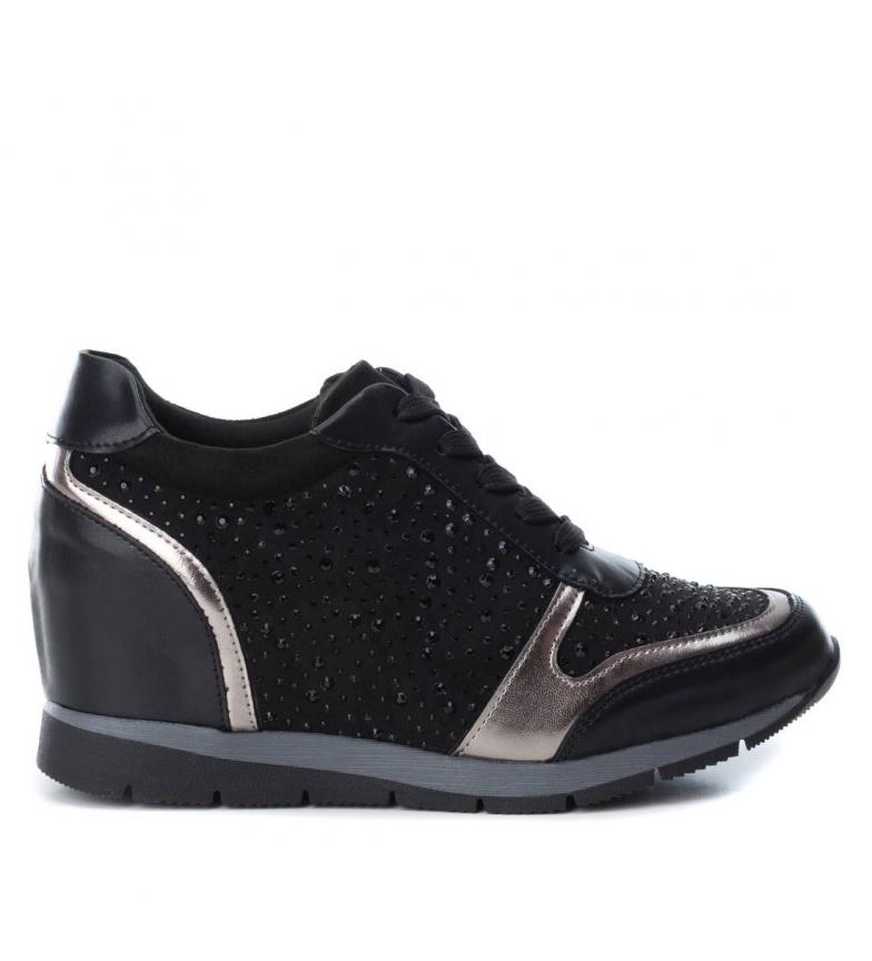 Comprar Xti Zapatillas Miranda negro -Altura cuña: 7cm-