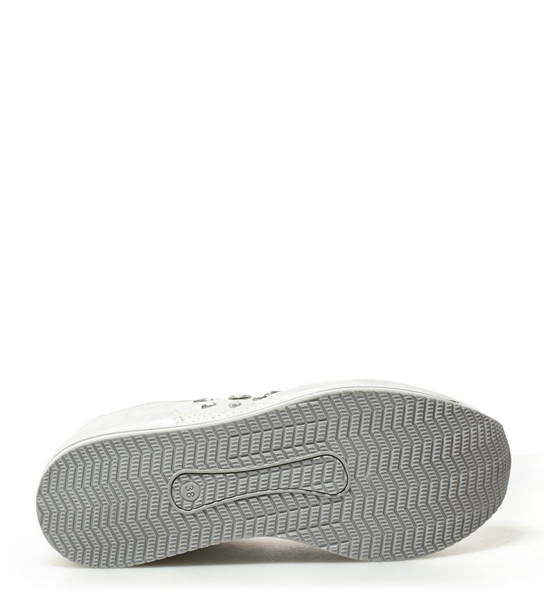 blanco 5cm Altura 4 plataforma Zapatillas Xti Petra 0qFwgxE