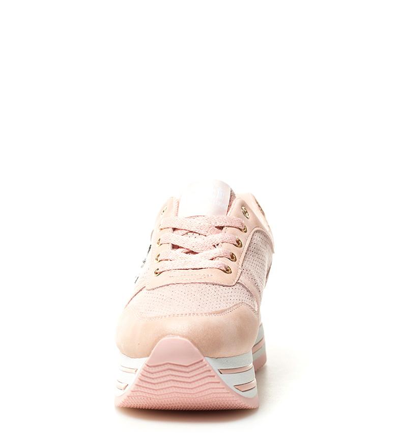 plataforma Xti Altura 5cm Xti Zapatillas Petra Zapatillas 4 rosa cqHYna57
