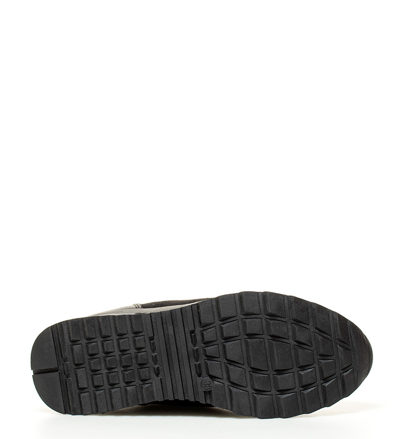 Xti Zapatillas Sadie negro Altura suela: 4cm