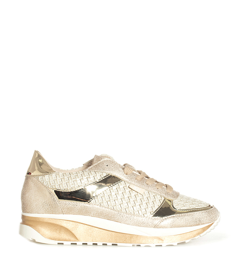Comprar Xti Zapatillas Soidade dorado