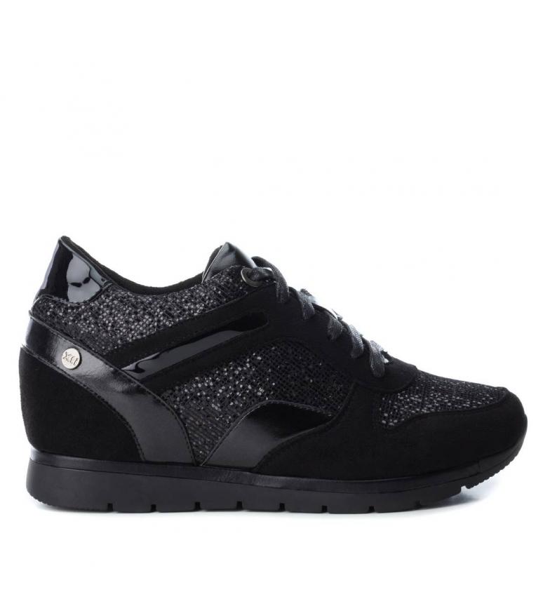 Comprar Xti Zapatillas Sandy negro -Altura cuña: 4cm-