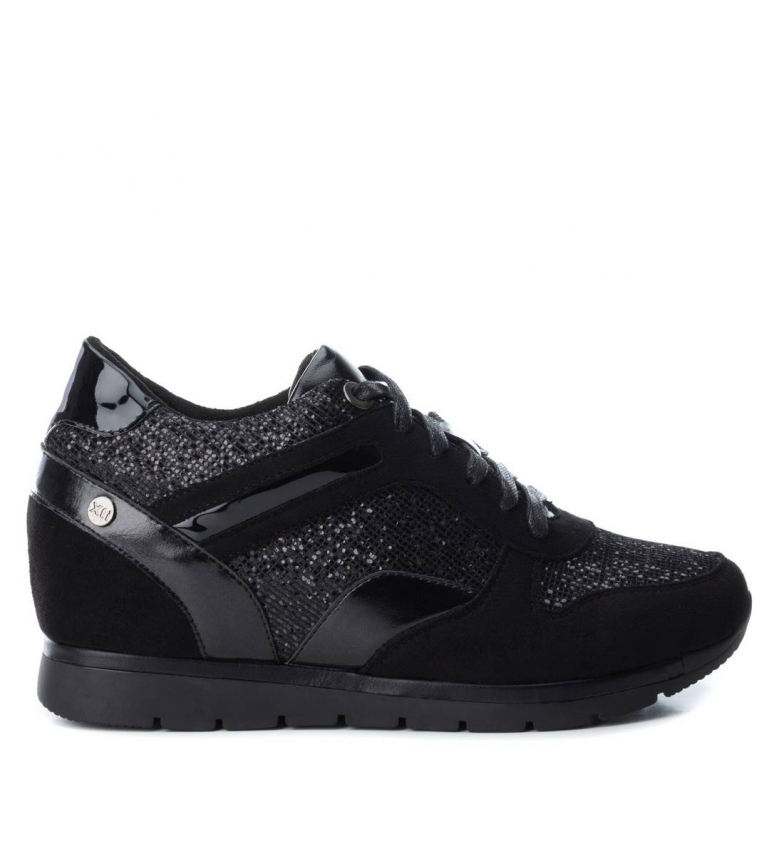 Comprar Xti Sandy black shoes - Wedge height: 4cm-