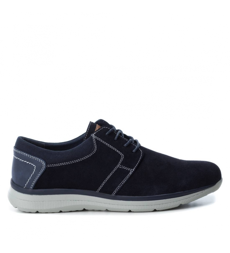 Comprar Xti Leather shoes 48177 marine