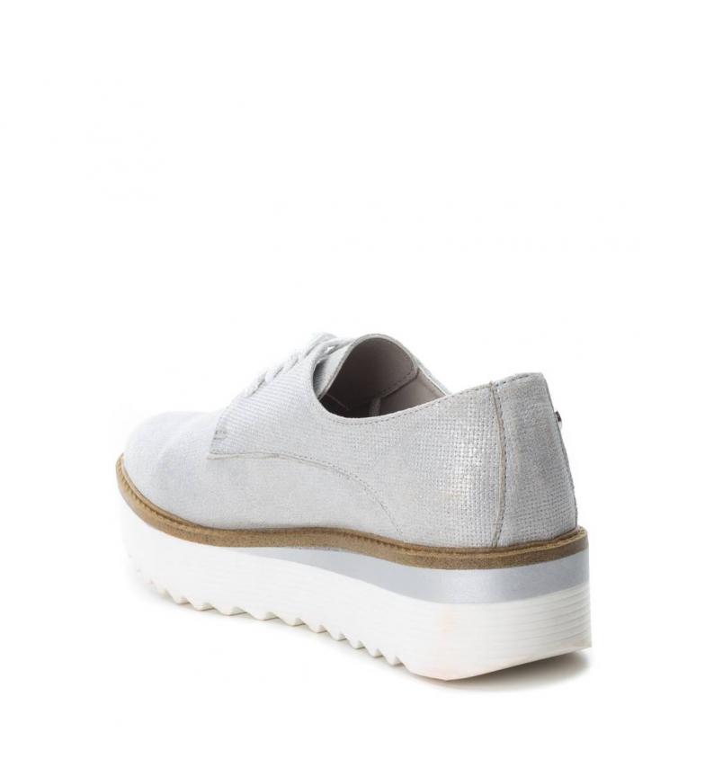 Xti Zapato Oxford hielo Altura plataforma: 4cm