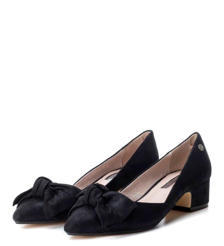 Altura Xti Zapato negro 4cm tacón rEwrfSqv