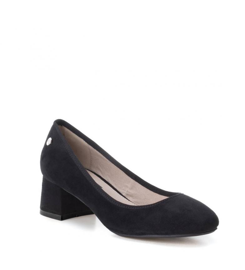 Zapato Xti 5cm Altura tacón negro dSwS87OHn