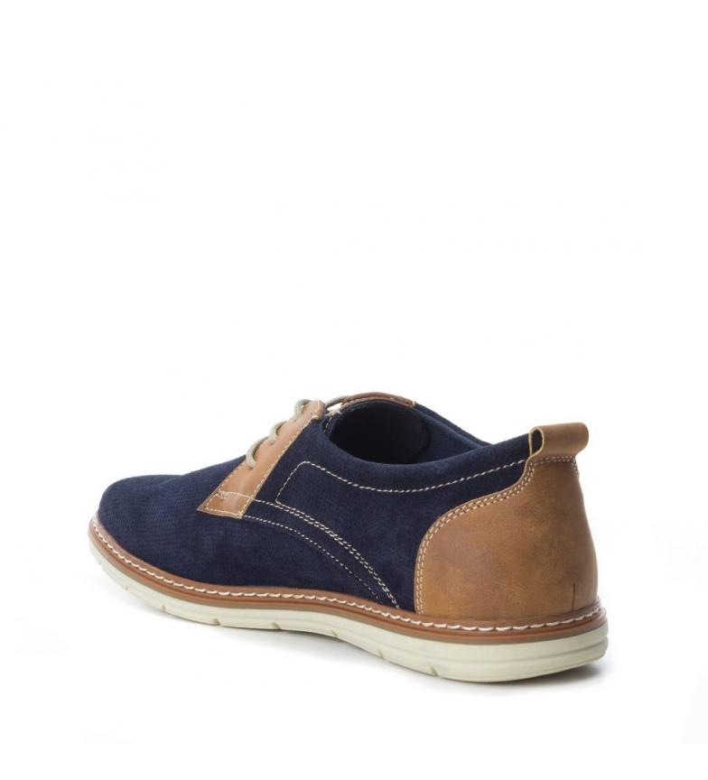 Xti Zapato de piel navy