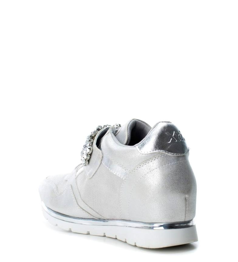 Xti cuña Zapatillas cm Altura 7 interior hielo Xti Zapatillas gqUwd6d