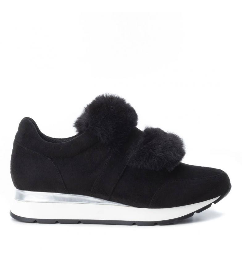 Xti Zapatillas negro Cuña: 3cm